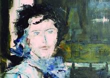 German Expressionism – Hubert Roestenburg Portrait Carolyne