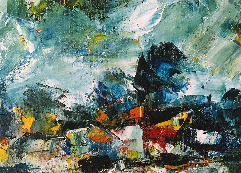 Hubert Roestenburg - Autumn near London German Expressionism