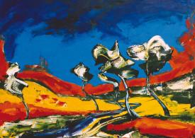 German Expressionism - Celtic Trees - Hubert Roestenburg