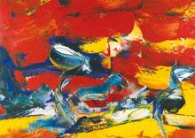 German Expressionism – Eifel Landscape Hubert Roestenburg