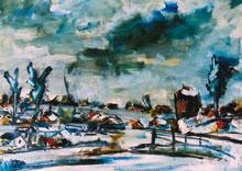 Hubert Roestenburg. Winter near Amsterdam. Roestenburg at his lyrical best.