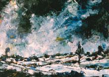 Hubert roestenburg Winter in Vienna German Expressionism