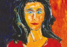 German Expressionism Hubert-Roestenburg Portrait Andrea