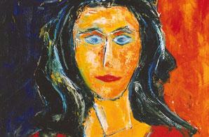 German-Expressionism-Hubert-Roestenburg-Portrait_Andrea-m