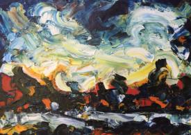 German Expressionism painting s'hertogenbosch Hubert Roestenburg