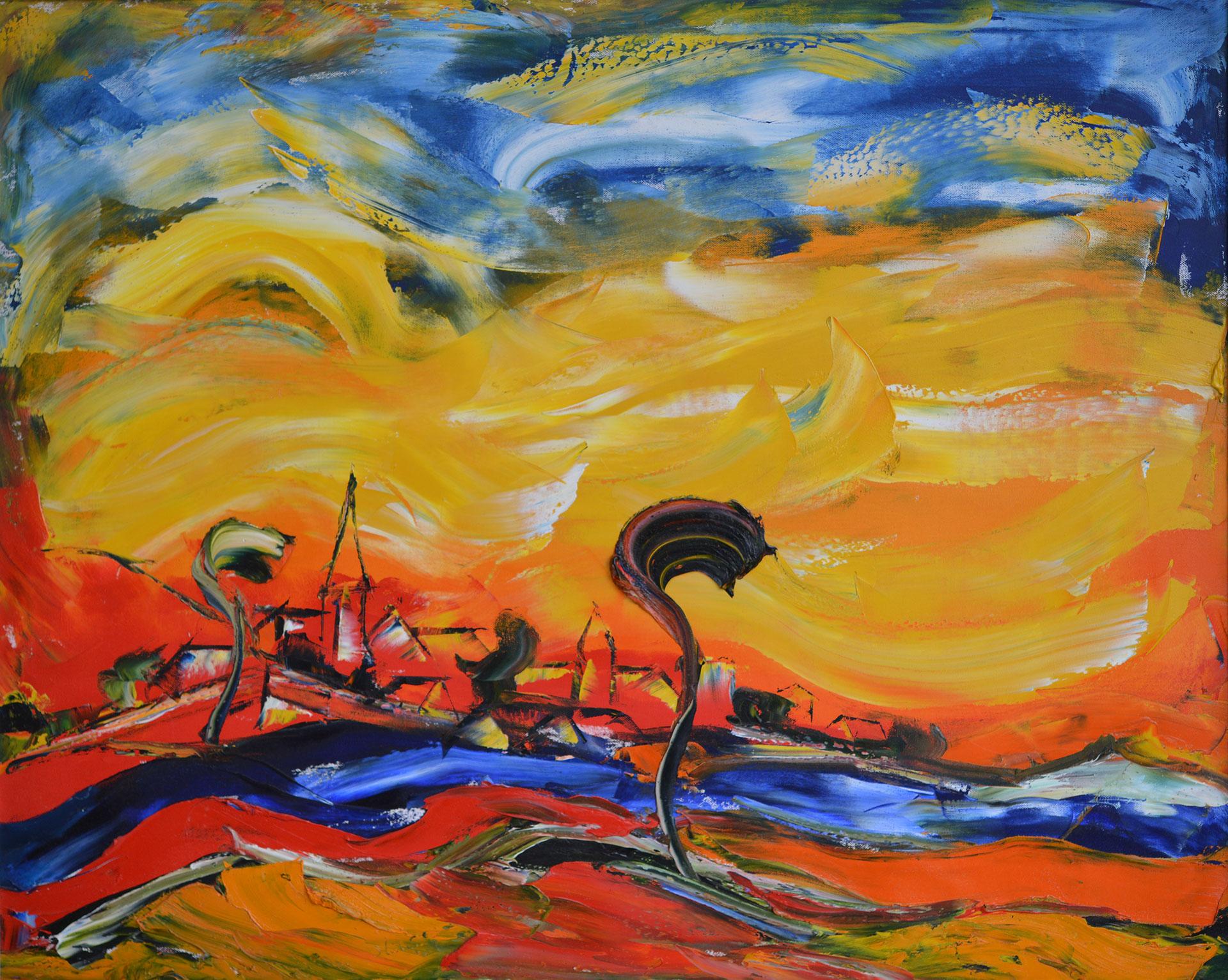 German-Expressionist-painters-Hubert-Roestenburg